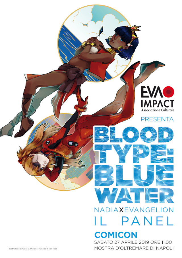 EVA IMPACT presenta Blood Type: Blue Water - Nadia × Evangelion