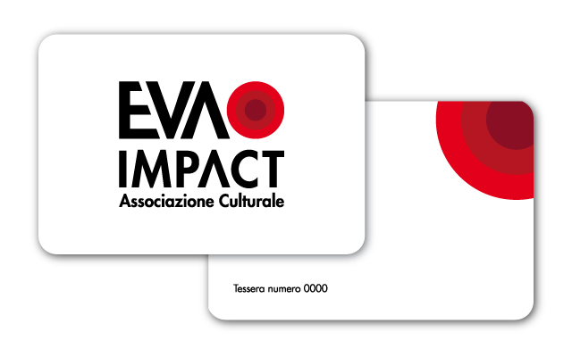 Le Tessere Soci di EVA IMPACT - Design a cura di Ivan Ricci