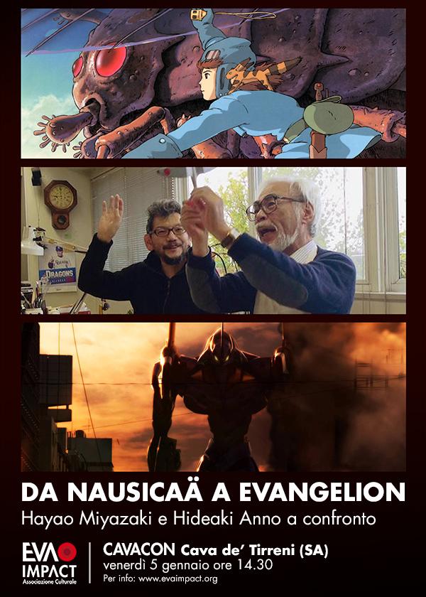 EVA IMPACT al Cavacon 2018 con Da Nausicaä a Evangelion – Hayao Miyazaki e Hideaki Anno a confronto (5 gennaio 2018)
