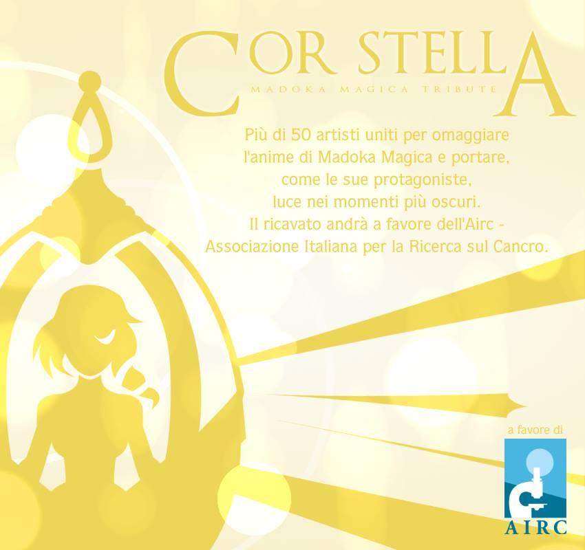 Cor Stella - Madoka Magica fanzine, a favore dell'AIRC