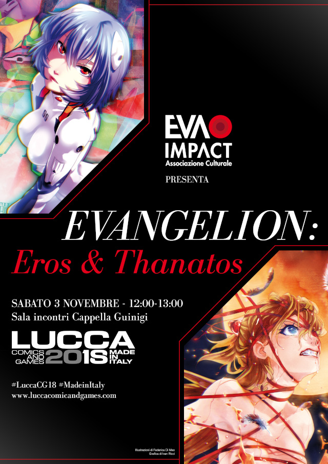 Evangelion: Eros & Thanatos - Lucca Comics & Games 2018