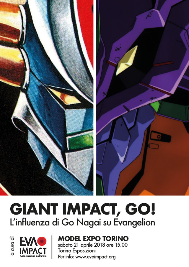 EVA IMPACT presenta Giant Impact, GO! - L'influenza di Go Nagai su Evangelion