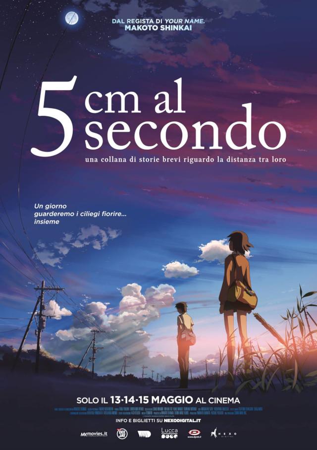 5 cm al secondo - Nexo Anime al cinema - Sconti e biglietti omaggio da EVA IMPACT e Nexo Digital