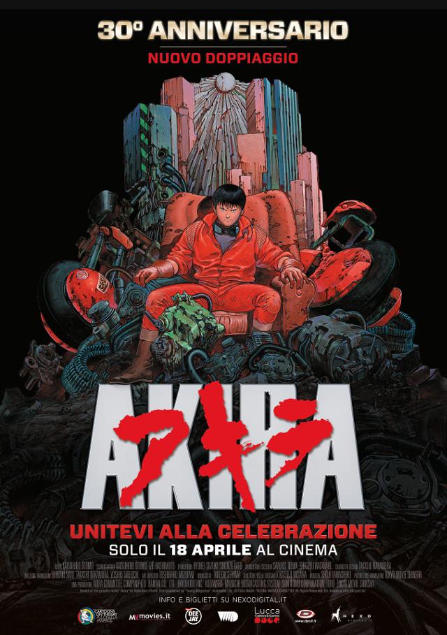 Akira - 30° anniversario - Nexo Anime al cinema - Sconti e biglietti omaggio da EVA IMPACT e Nexo Digital