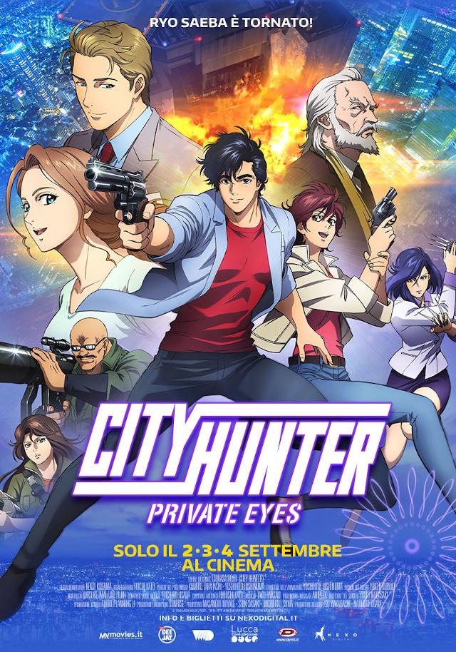 City Hunter. Private Eyes - Nexo Anime al cinema - Sconti e biglietti omaggio da EVA IMPACT e Nexo Digital