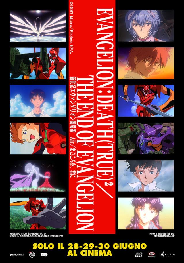 Evangelion: Death(true)²/The End of Evangelion - Nexo Anime al cinema - Sconti e biglietti omaggio da EVA IMPACT e Nexo Digital