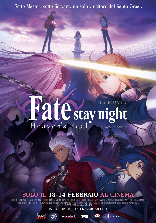 Fate/stay night: Heaven's Feel 1. Presage Flower - Nexo Anime al cinema - Sconti e biglietti omaggio da EVA IMPACT e Nexo Digital