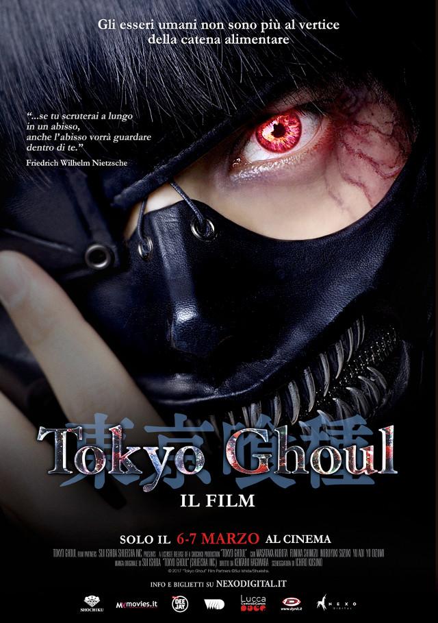 Tokyo Ghoul - Nexo Anime al cinema - Sconti e biglietti omaggio da EVA IMPACT e Nexo Digital