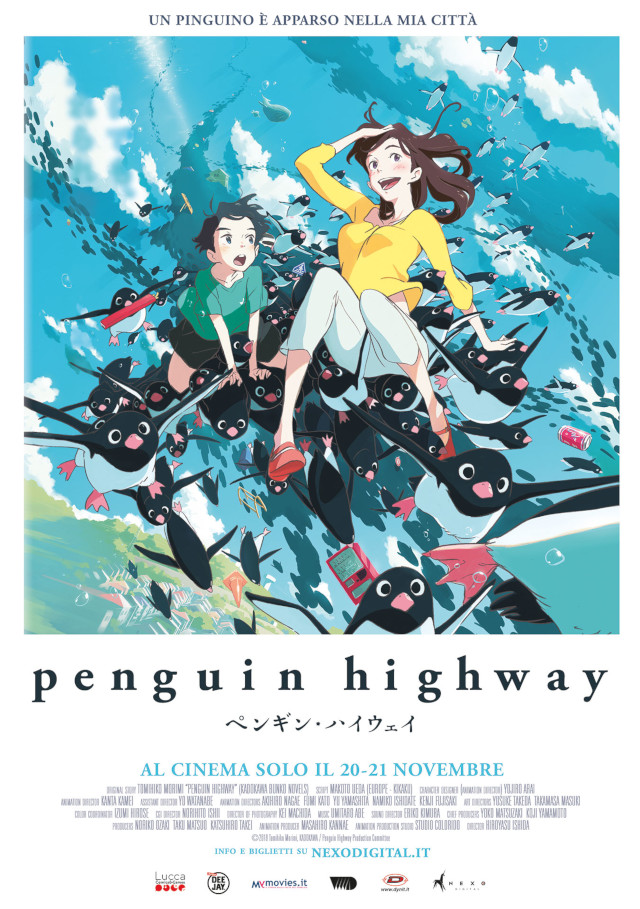 Penguin Highway - Nexo Anime al cinema - Sconti e biglietti omaggio da EVA IMPACT e Nexo Digital