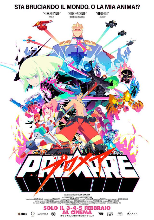 Promare - Nexo Anime al cinema - Sconti e biglietti omaggio da EVA IMPACT e Nexo Digital