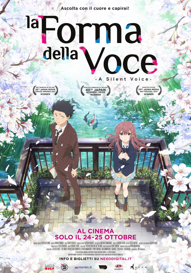 La forma della voce - Nexo Anime al cinema - Sconti e biglietti omaggio da EVA IMPACT e Nexo Digital