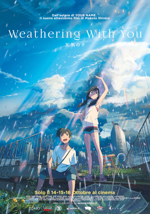 Weathering With You - Nexo Anime al cinema - Sconti e biglietti omaggio da EVA IMPACT e Nexo Digital