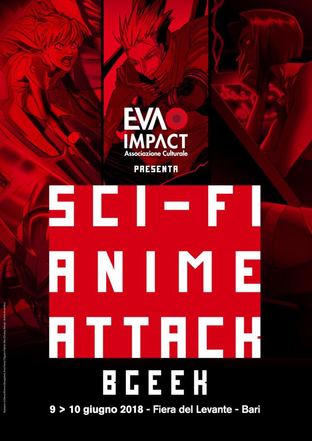Mostra tributo itinerante Sci-Fi Anime Attack Exhibit - Evangelion, Cowboy Bebop e Trigun al BGeek di Bari