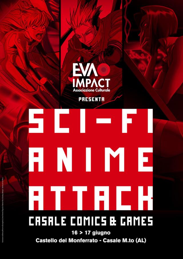 Mostra tributo itinerante Sci-Fi Anime Attack - Evangelion, Cowboy Bebop e Trigun al Casale Comics&Games