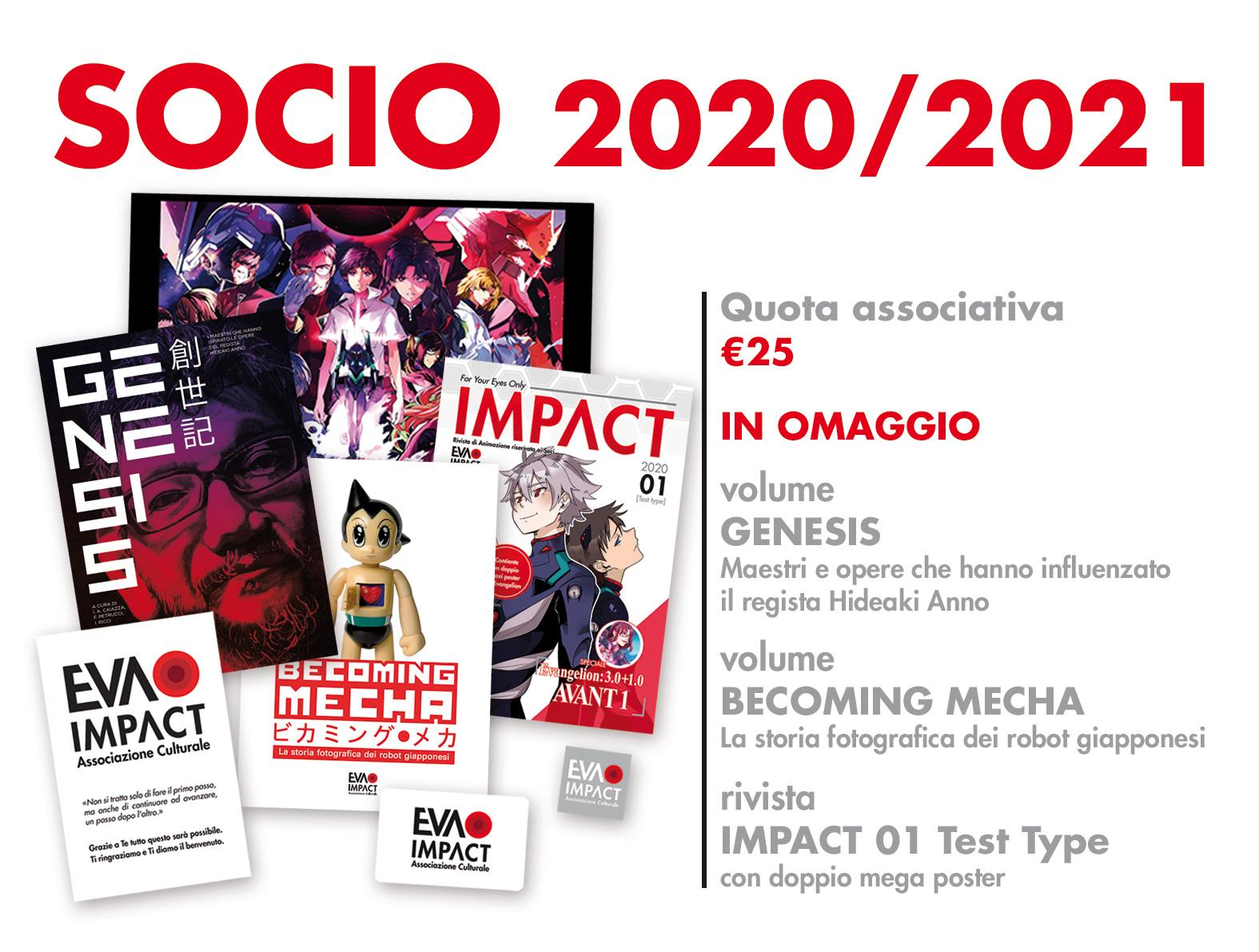 Socio 2020/2021 - Associazione Culturale EVA IMPACT