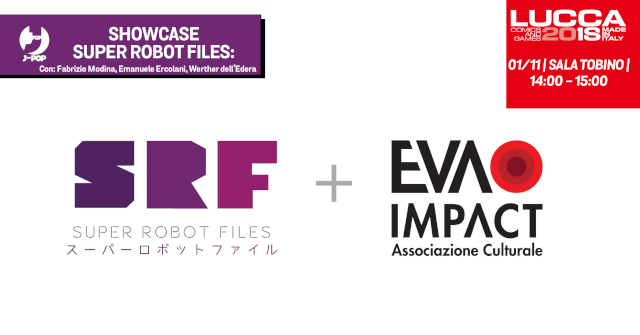Fabrizio Modina - Showcase Super Robot Files 1982/2018