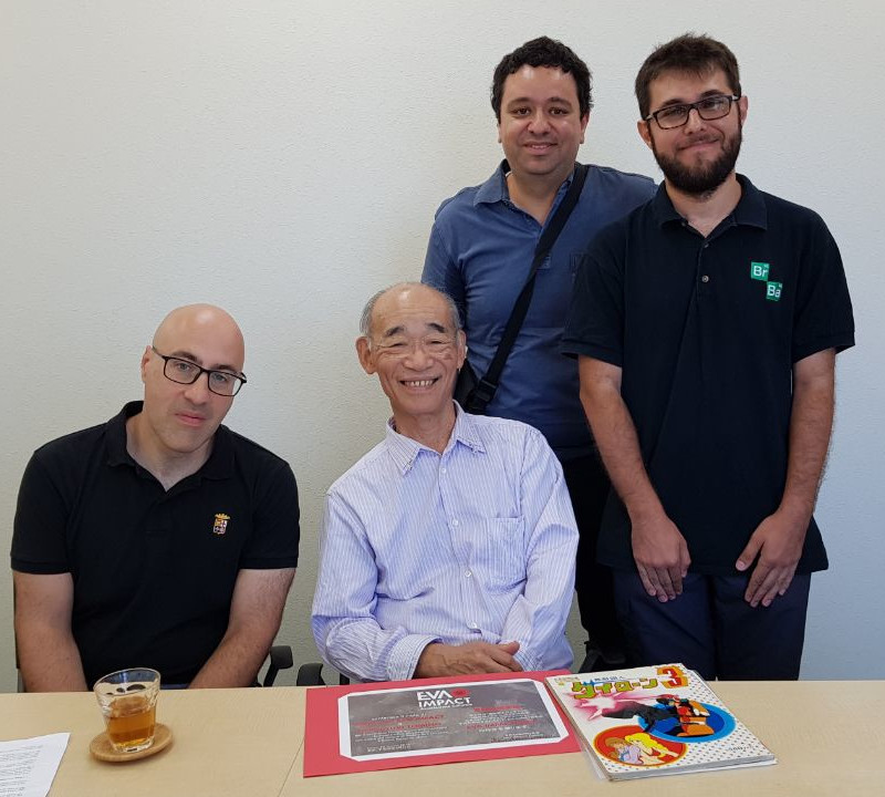 EVA IMPACT conferisce a Yoshiyuki Tomino il titolo di Amico di EVA IMPACT