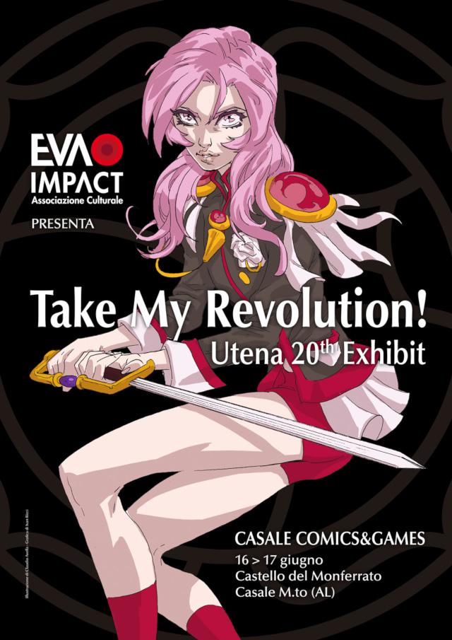 Mostra tributo itinerante Take my Revolution! - Utena al Casale Comics & Games