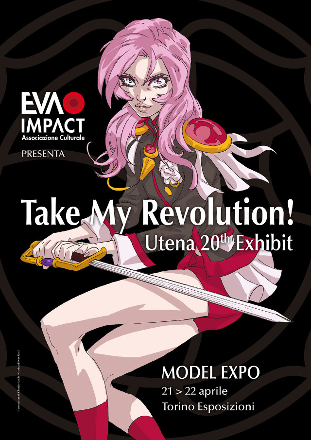 Mostra tributo itinerante Take my Revolution! - Utena a Model Expo Torino